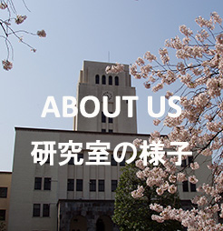 ABOUT US 研究室の様子